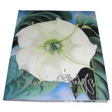 Vintage Book of Georgia O'keeffe - Printed Flowers- Nickolas Calloway,  Near Mint!