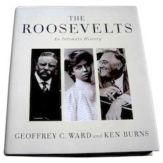 Vintage book, The Roosevelts, Alfred Knopf, First Edition