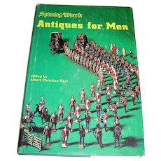 Vintage book of collectibles for men by Spinning Wheel, 1974