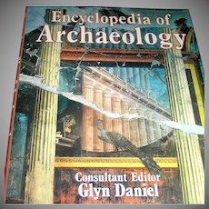Vintage book, Encyclopedia of Archaelogy, Gly Daniel,1977