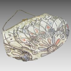 Vintage Women's Evening bag or purse with sequins