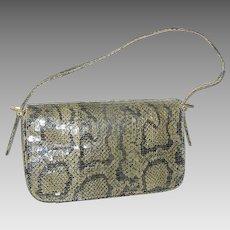 Vintage Snake-skin Ladies Handbag or Purse with Strap Boa