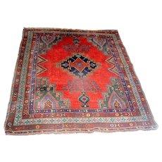 Vintage Oriental Kazak Rug Carpet