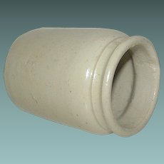 Vintage Stoneware Jar or Cache Pot