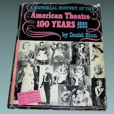 Vintage Book American Theatre 100 Years 1860-1960