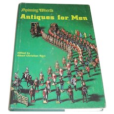 Vintage book, Antiques for Men Spinning Wheels Revi about 1970
