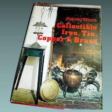 Vintage book Collectible Iron Tin Copper & Brass, Revi 1974