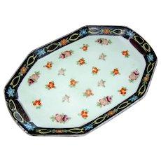 Vintage Japanese porcelain tray
