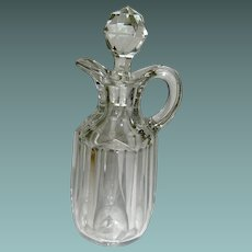 Vintage Cruet hand blown glass