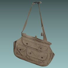 Vintage Canvas Fishing Bag