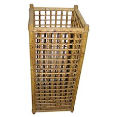 Bamboo umbrella stand - Red Tag Sale Item