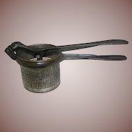 Vintage Kitchen Potato Masher Food Processor