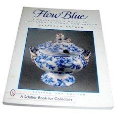 Vintage Book, Flow Blue a Collector's Guide..., Snyder, 1996