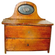 Miniature Chest of Drawers, Mahogany, early 20th c.