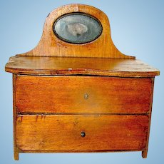 Miniature Mahogany Chest of Drawers Toy