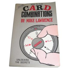Vintage Book, Card Combinations, Mike Lawrence, 1988