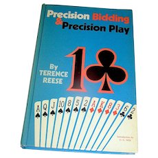 Vintage Book, Precision Bidding & Precision Play, Reese, 1972