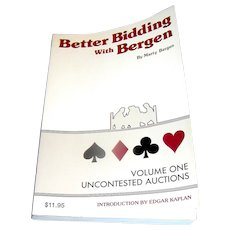 Better Bidding with Bergen, by Marty Bergen, Volume One, 1985