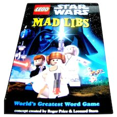 Vintage book, Star Wars Mad Libs work game by Roger Price and Leonard Stern