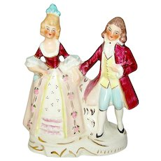 Vintage figurine of a Colonial Couple by Cloventry