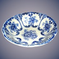 Transfer ware bowl Libertas, Prussia, 10 inches