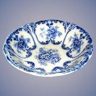 Transfer ware bowl Libertas, Prussia, 10 inches