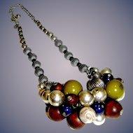 Vintage Chicoes Necklace cluster