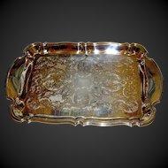 Silverplate tray by Oneida