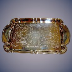 Silverplate tray by Oneida