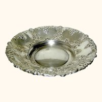 Silverplate bowl by William Adams Spain mid century