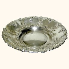 Silverplate bowl by William Adams Spain mid century
