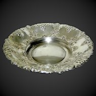 Silverplate bowl by William Adams made is Spain mid century