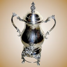 Silver plate, Samovar, Tea Urn- Electric