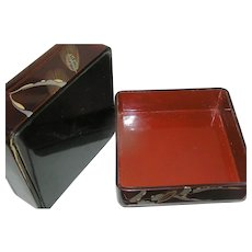 Vintage Japanese Lacquer Box