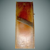 Primitive Slaw Cutter single blade Company Signed
