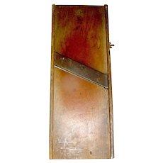 Primitive Slaw Cutter single blade Company Signed