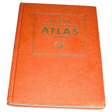 WW 11 - 1943 Rand McNally Atlas Of The World