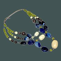 Vintage  Contemporary Necklace marked Chico's