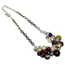 Vintage Chico's Lady's Beaded Necklace