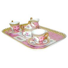 Early Child's Porcelain Tea Set French