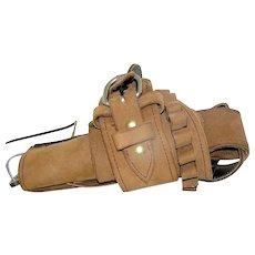 Vintage Toy Cowboy Cowgirl Gun Holster