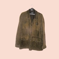 Vintage Men's Suede Coat Jacket Brooksbrothers