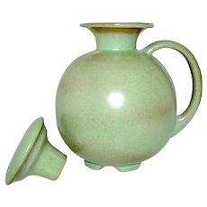 Vintage Frankoma Pottery Pitcher with Lid