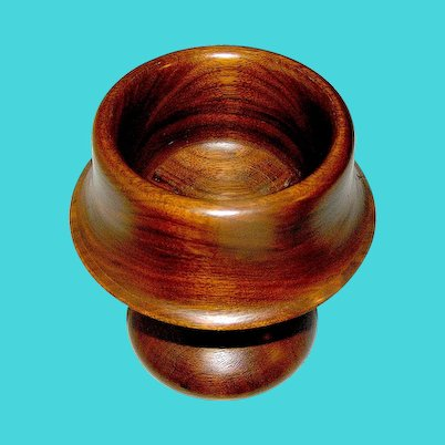 Treen Bowl Exotic Wood
