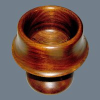 Treen Bowl made turned in an Exotic Wood