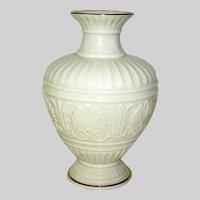 Vintage Porcelain Vase marked Lenox cream