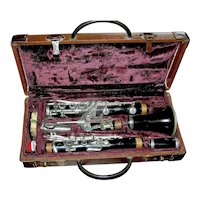 Vintage Clarinet by Conn in original case
