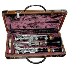Vintage Clarinet by Conn in original case