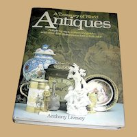 Vintage Book, Treasury of World Antiques, Hanley Publishing, 1st English edition
