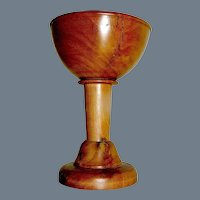 Small Treen Chalice Maple Wood